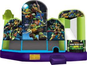 Ninja turtles bounce house rental