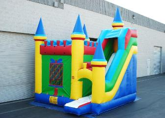 Activity Castle Combo rental provided by ELY Party Rentals