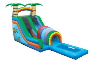 water slide bounce house rental