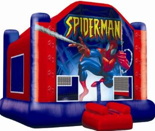 Kids love ELY Party Rentals' Spiderman jumper! Rent yours today!