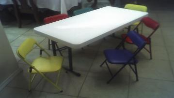 They're made just for them. Rent your Children's Tables and Chairs today from ELY Party Rentals!