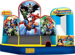 Justice League bounce house rental